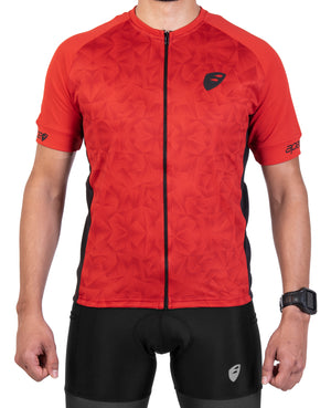 Apace 2018 Chase Pro Fit Cycling Jersey - Mens - Red