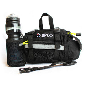 Quipco Ez Space 2.0 Waist Pouch Black/Yellow - Ayudh Sports LLP  - 1