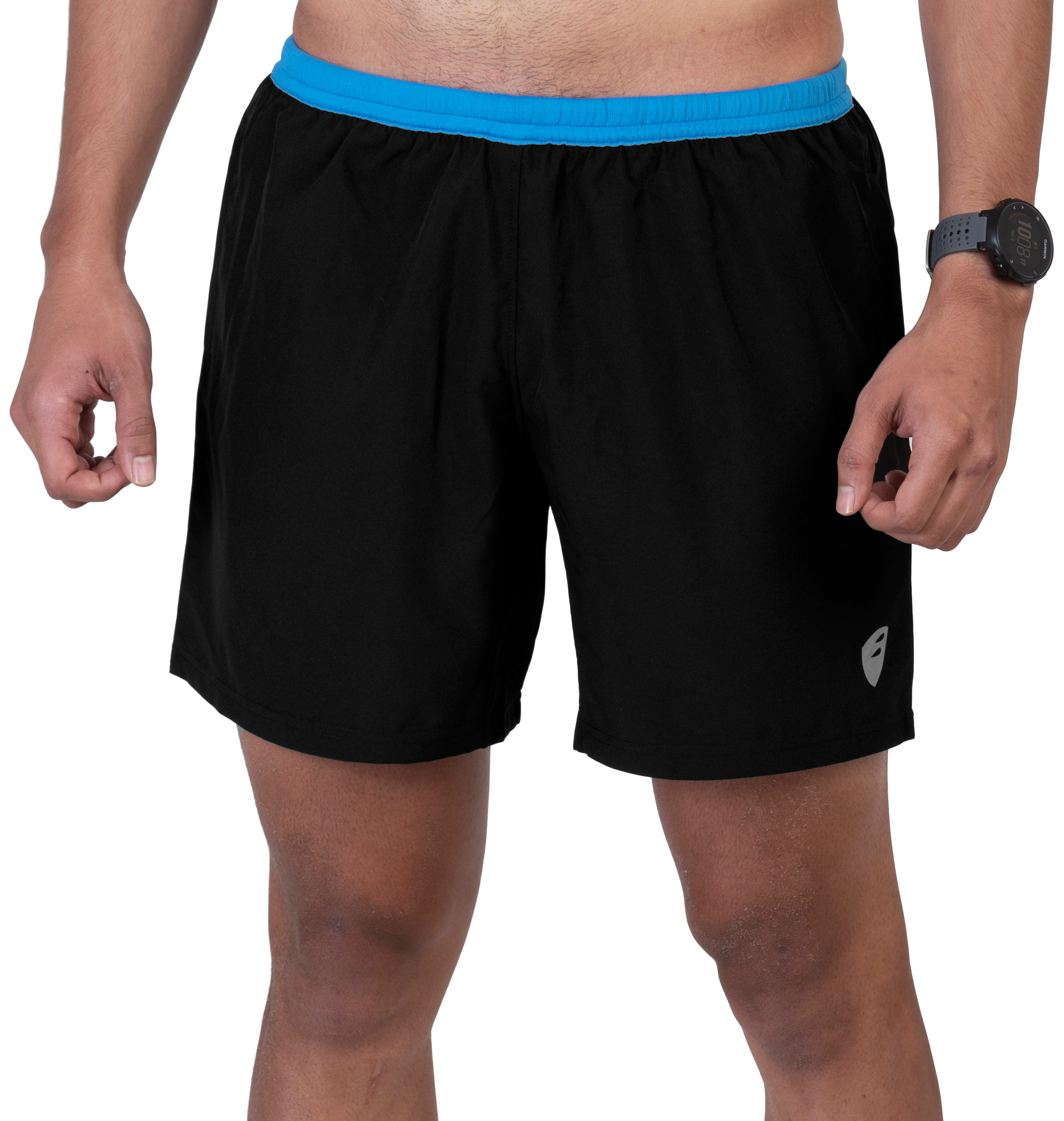 Apace 2017 Tempo - Mens Running Shorts - Black