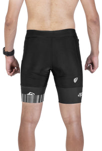 Apace 2018 Verge - Mens Triathlon Shorts - Black
