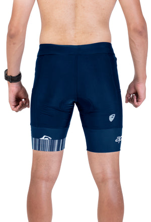 Apace 2018 Verge - Mens Triathlon Shorts - Navy