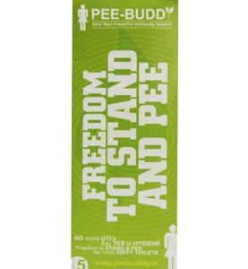Pee Buddy [ Pack of 5 ] - Ayudh Sports LLP  - 1