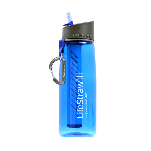 Lifestraw Go Portable Water Filter + Bottle - 650ml - Ayudh Sports LLP  - 1