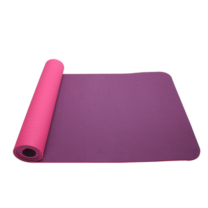 Kxana TPE Yoga Mat in Double Layer 8mm