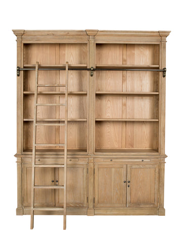 Classic Furniture French Country French Provincial Library Bookcase Living Room Dining Room American Oak Home Place