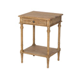 Bedside Table Oak French Country Bedroom Furniture Provincial Home