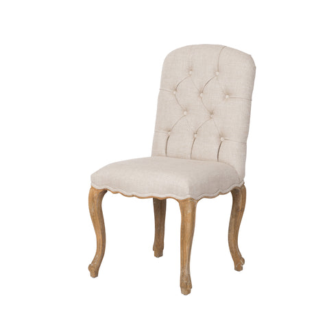 Tufted French Dining Chair