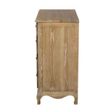 5 Drawer Oak Chest