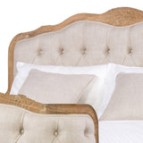 Corbeille Tufted French Bed