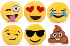 Emoji Cushions and Pillows