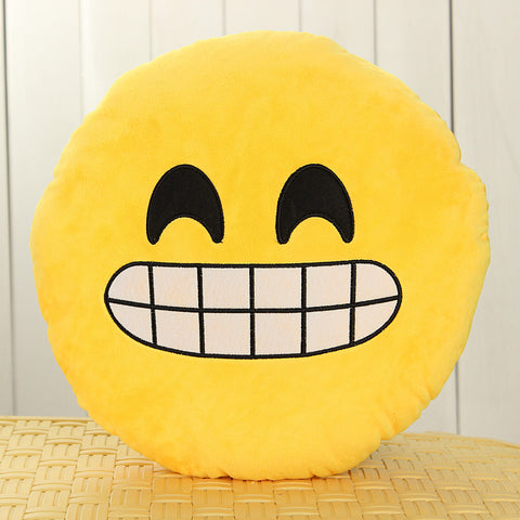 Grinning Emoji Cushion