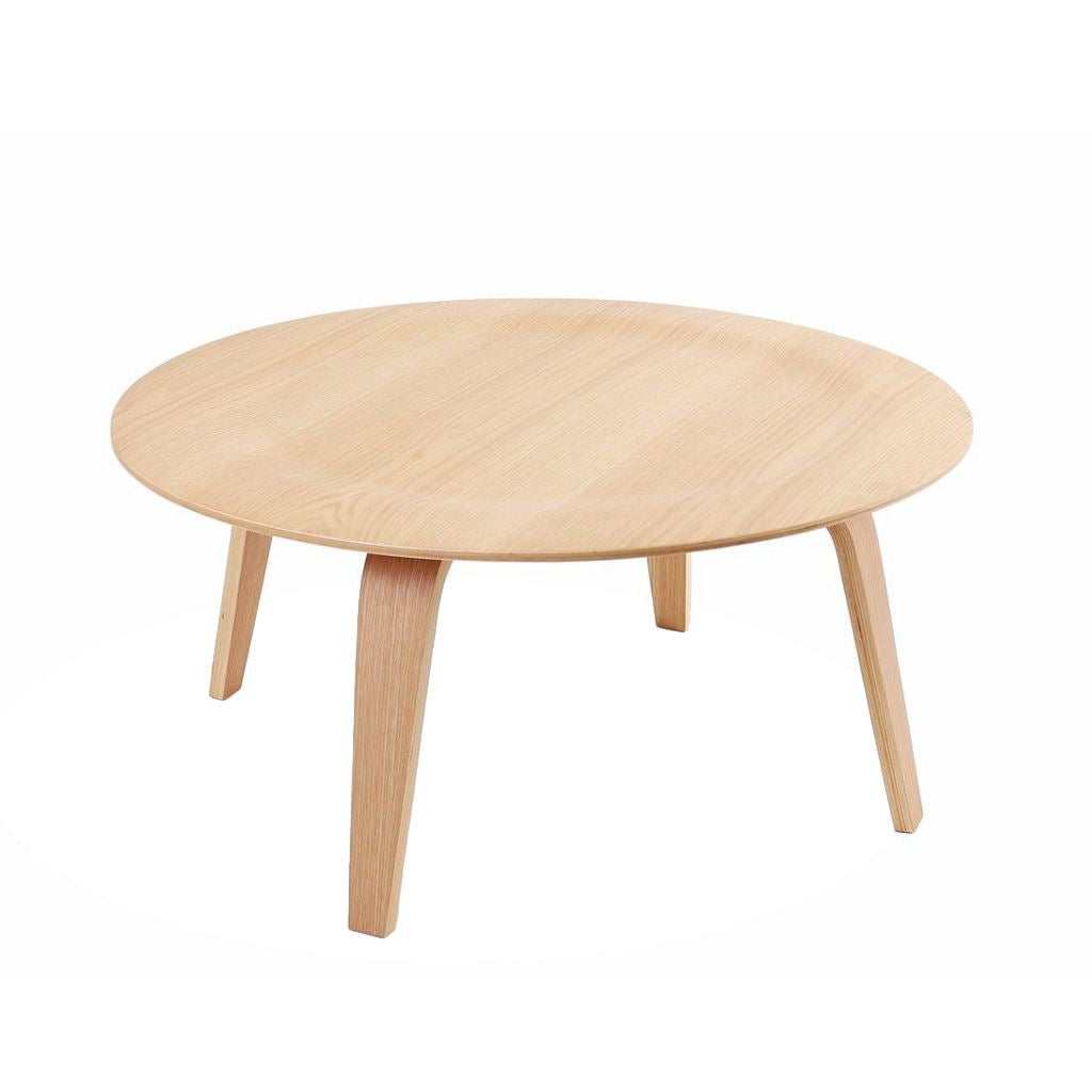 Eames Plywood Coffee Table Style (White Oak)