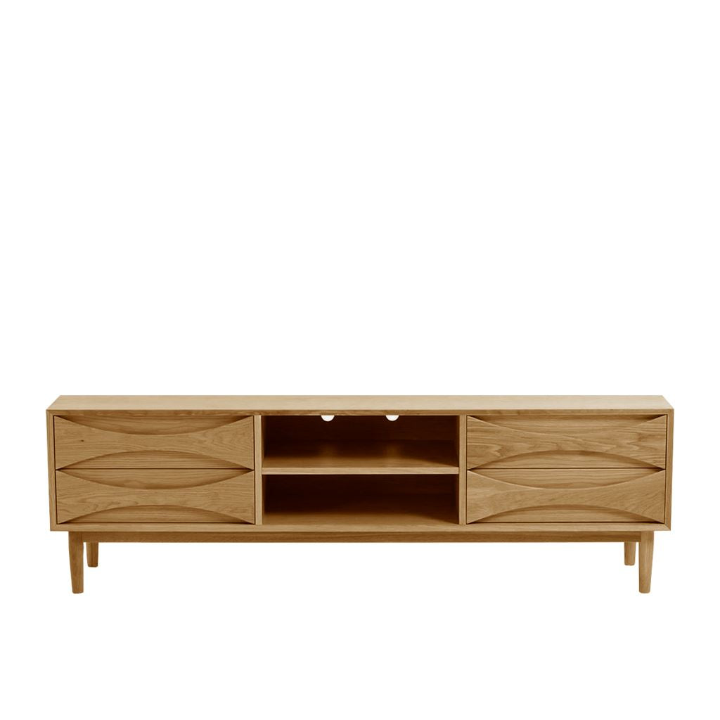 Arne Vodder Style Entertainment Unit W180 (Oak)