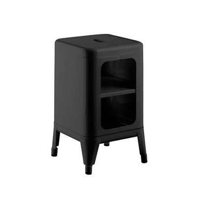 Tolix Cabinet and Stool Style - Nathan Rhodes Design