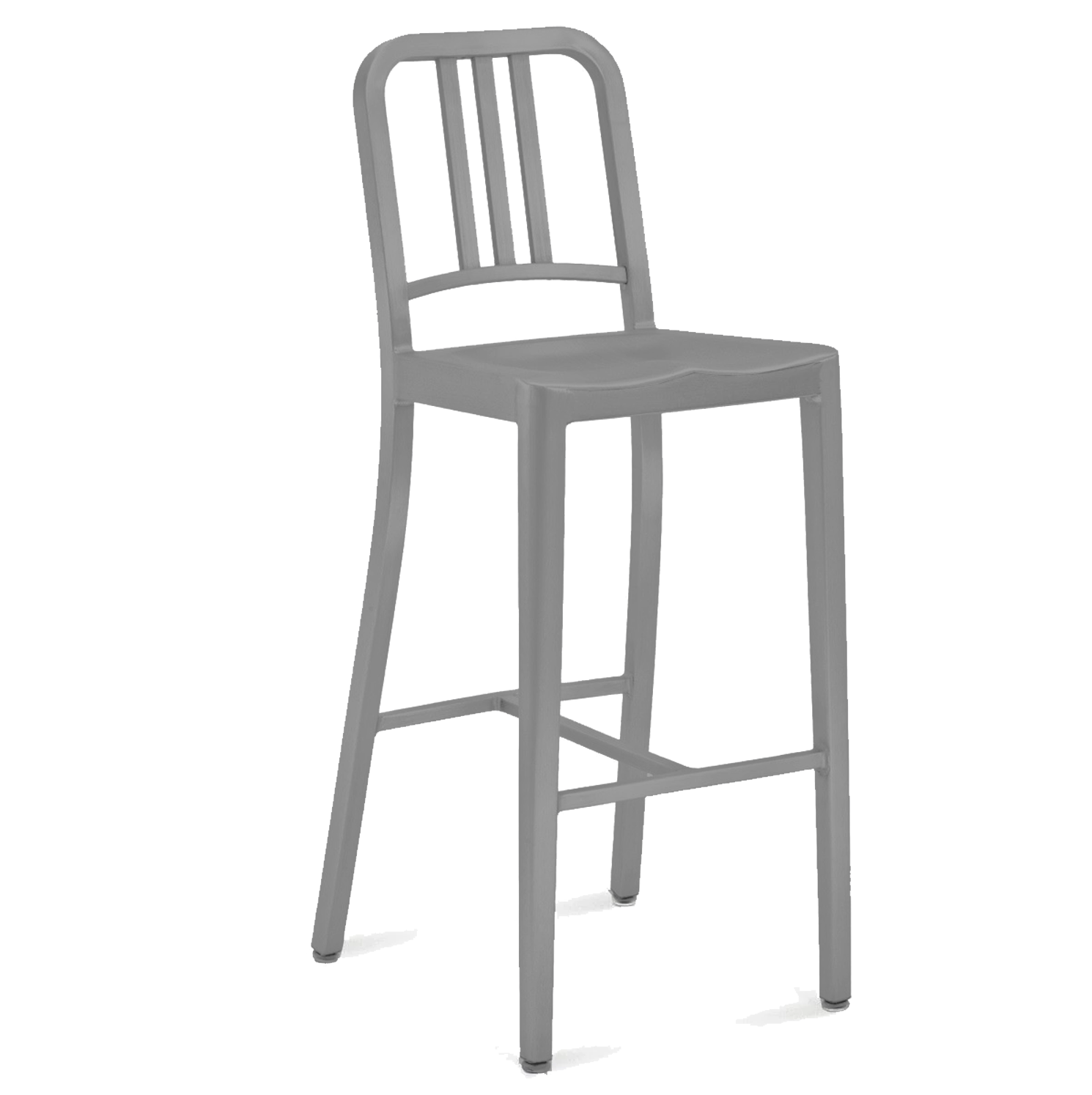 Emeco Style Navy Barstool H75cm (Aluminium with Powder Coat)