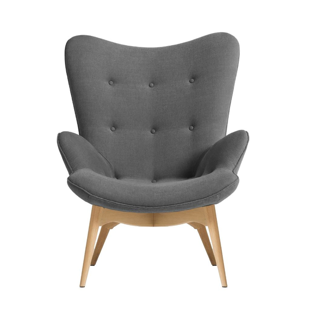 Grant Featherston Contour Lounge Chair Style (Dark Grey)