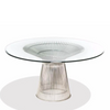 Warren Platner Style Dining Table (Glass/Stainless)