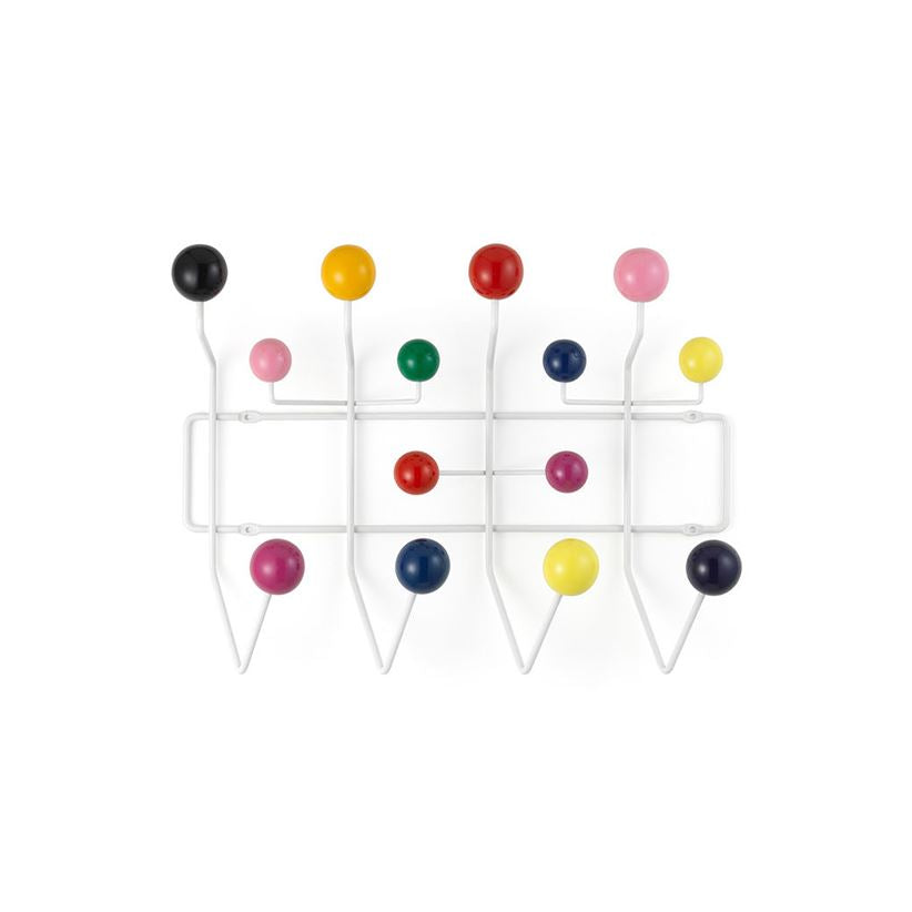 Eames Style Hang it All Rack (White Frame) - Nathan Rhodes Design