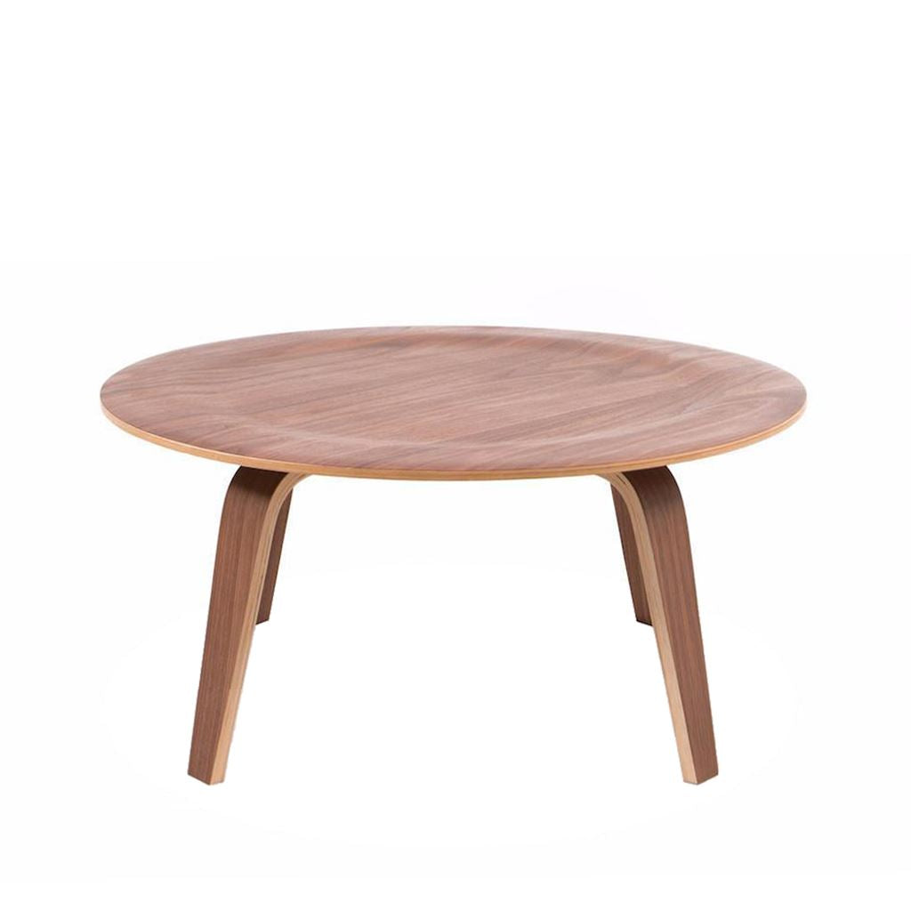 Eames Style Plywood Coffee Table (Walnut)