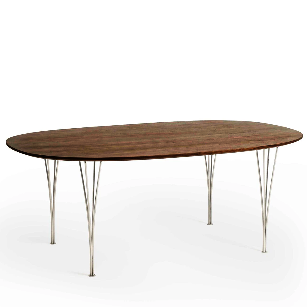Arne Jacobsen Style Super Elliptical Table L180cm