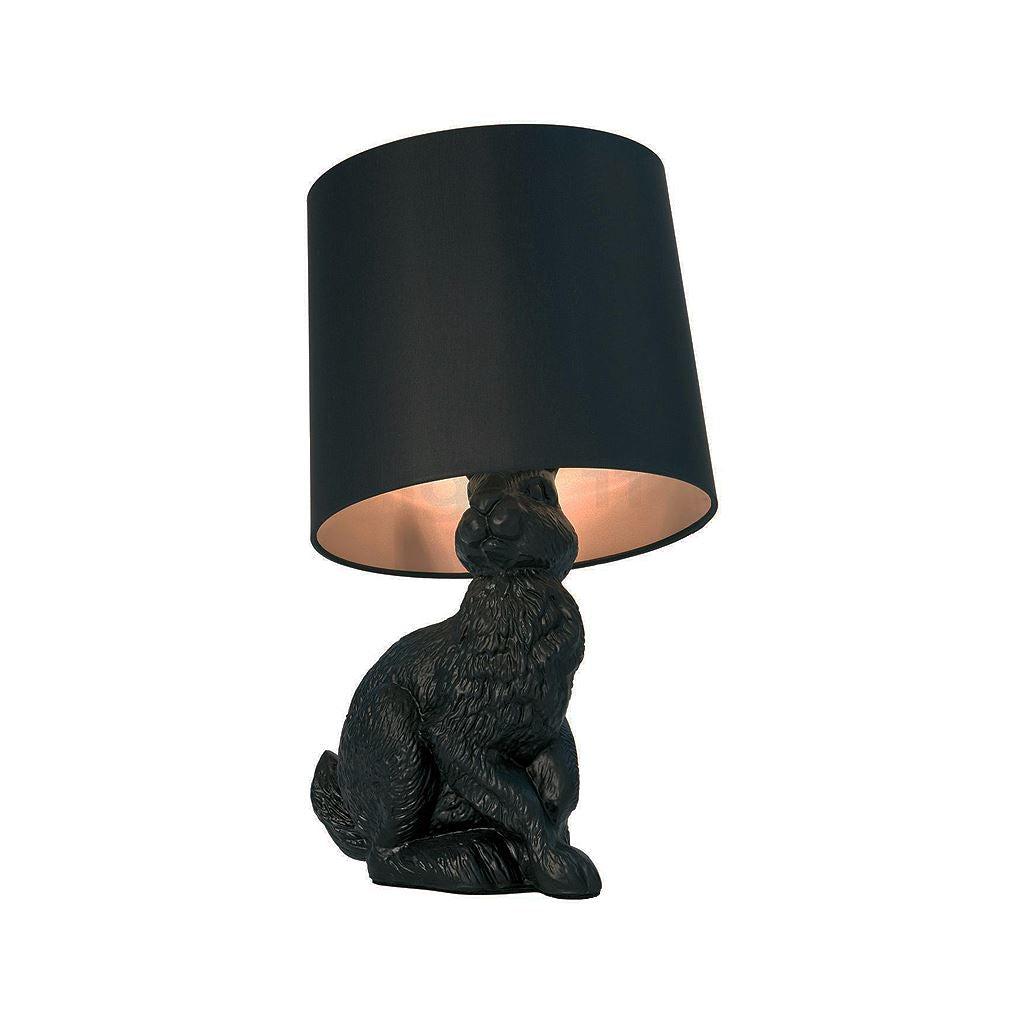 Moooi Style Rabbit Table Lamp (Black)