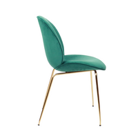Prouvé Style Standard Chair (Green/Oak)