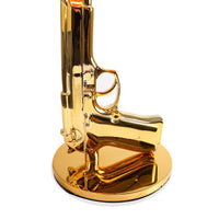 Philippe Starck Style Gun Table Lamp (Black / Gold)