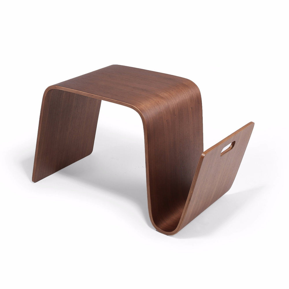 mag table mid century modern reproduction mag table side table  - eric pfeiffer style offi mag table (walnut) – nathan rhodes design