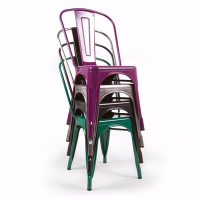 Tolix Side Chair Style (Special Colors)