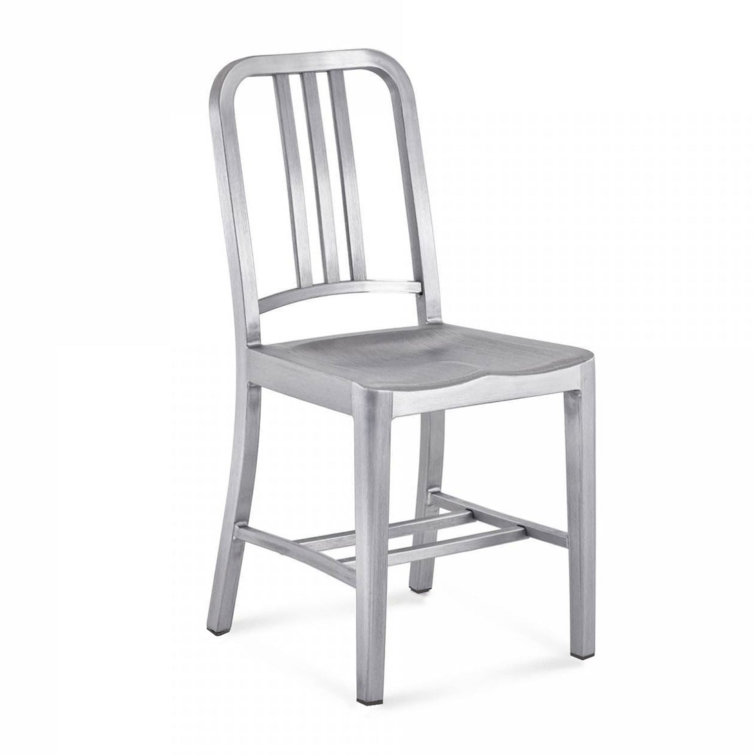 Emeco Style Navy Chair (Brushed Aluminium) - Nathan Rhodes Design