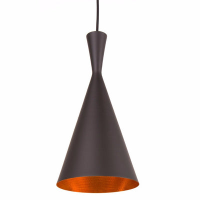 Tom Dixon Style Tall Beat Shade Pendant - Nathan Rhodes Design