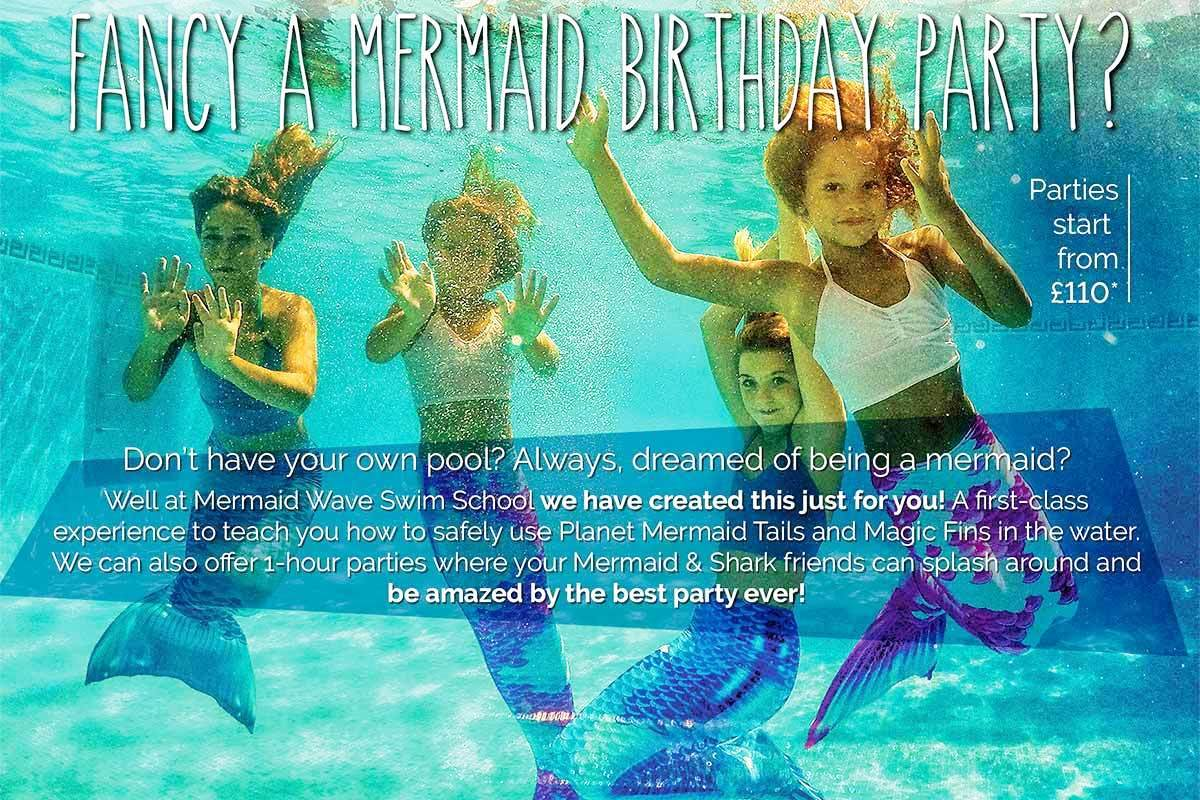 Mermaid Birthday Parties with www.mermaidwave.com