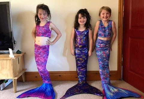 Little Mermaids get a treat