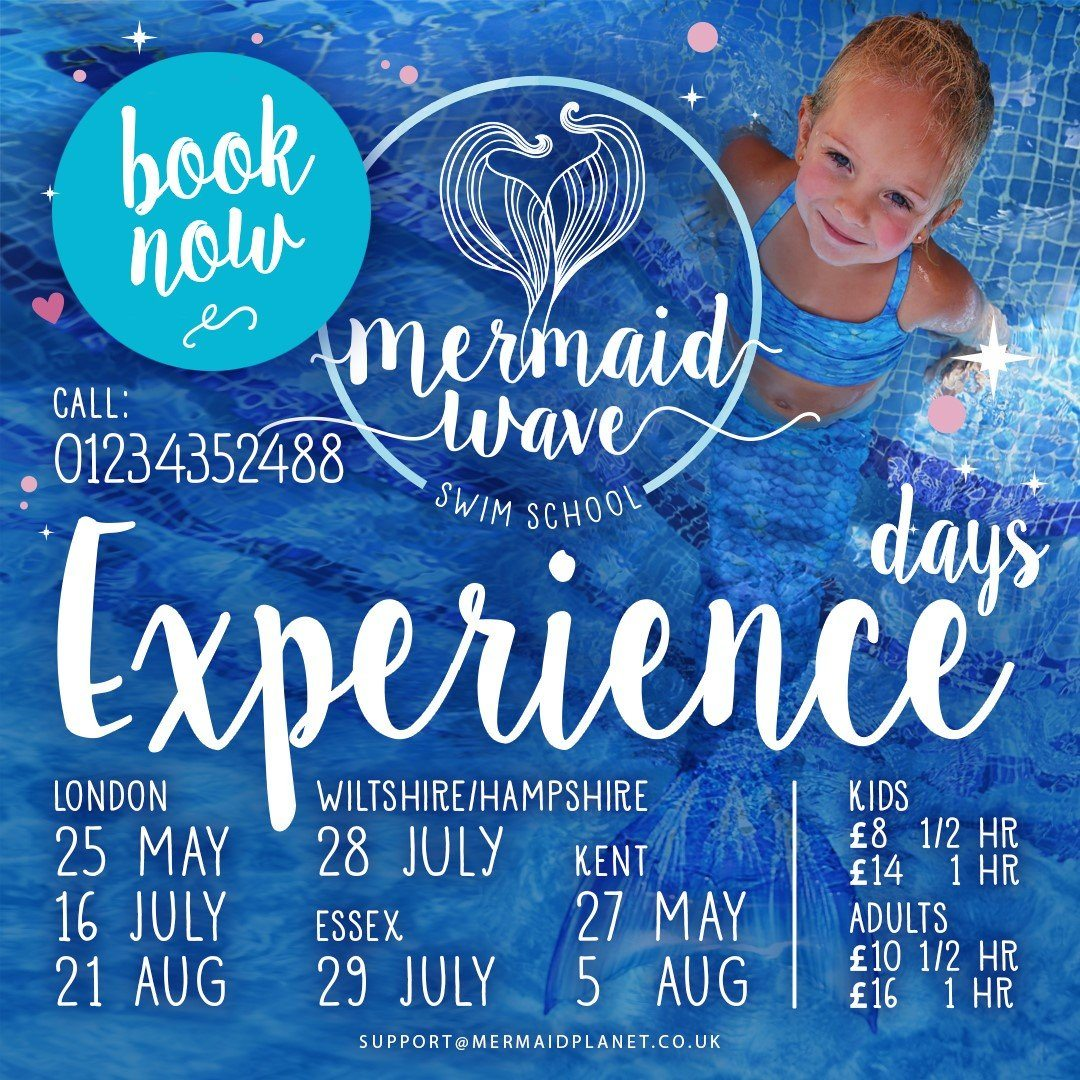 Mermaid Wave Unveils Mermaid Experience Days