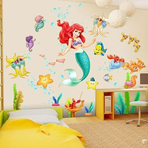 How to decorate your Bedroom Mermaid Style