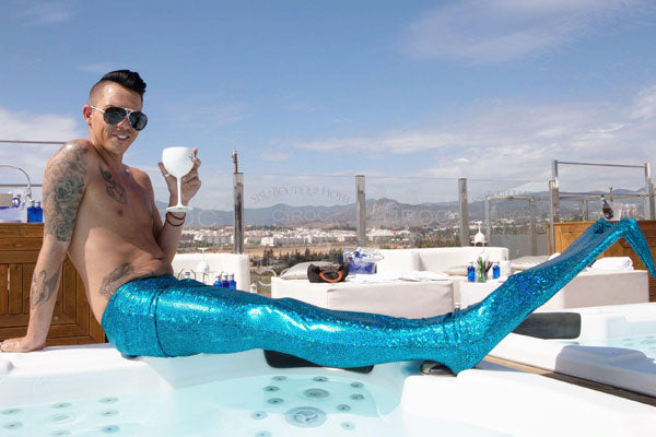 Bobby Norris TOWIE Mermaid