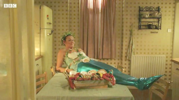 EastEnders Mermaid Tina Carter