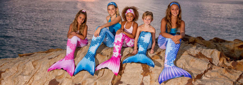 The Royal Koi Mermaid Tail for Kids Collection