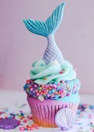 Birthday party Mermaid cupcakes