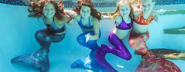 4ada7421cc The hour long lesson for children aged 4 and above will include tuition on  how to swim like Ariel whilst being fitted with a tail.