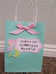 Party Bags for Mermaid Parties
