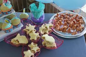 Party treats for Mermaids and Sharks