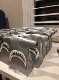 Party Bags for Shark Parties