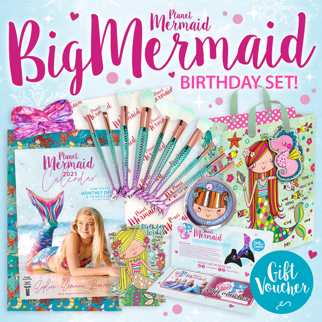 Conjunto de presentes The Big Mermaid