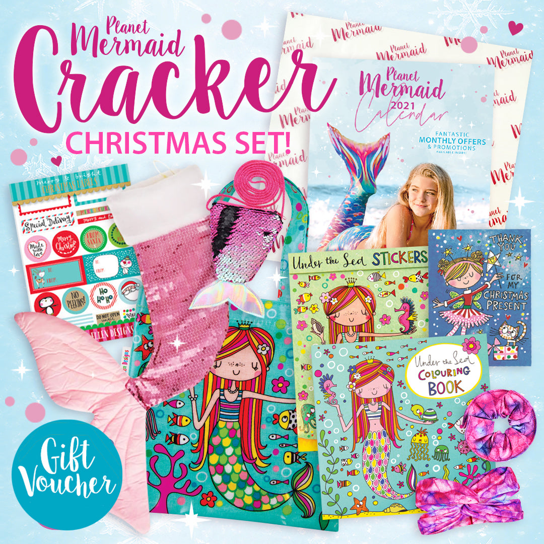 Planet Mermaid Cracker Christmas Set