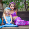 Frozen Aqua Mermaid Tail Set