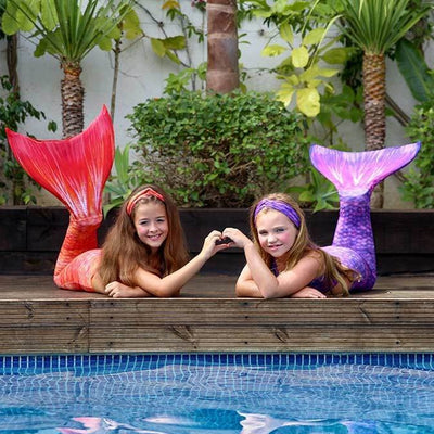 Sunset Splash Mermaid Tail Upgrade Kit