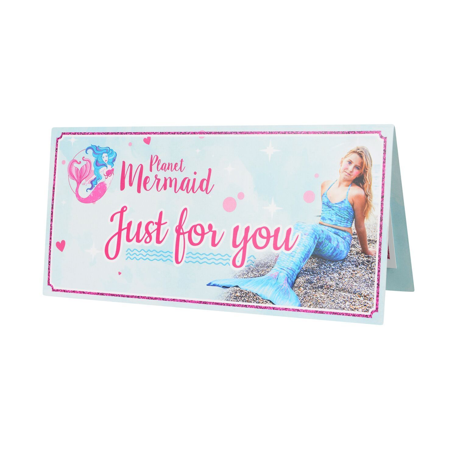 Just for you Mermaid Gift Card from Planet Mermaid
