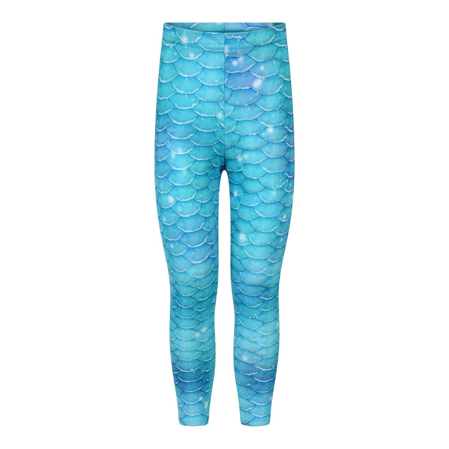 Silver Surfer Mermaid Swim Leggings