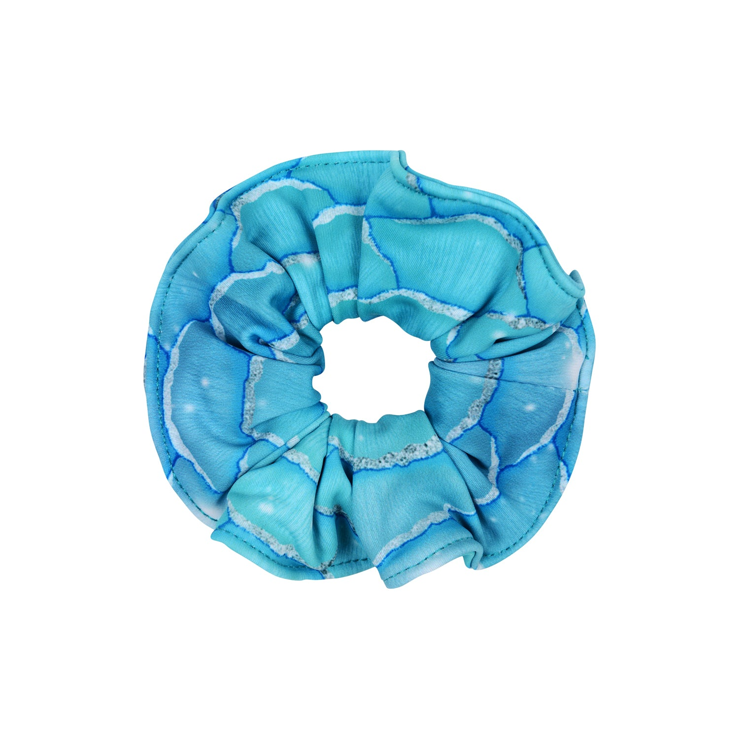 Silver Surfer Mermaid Scrunchie